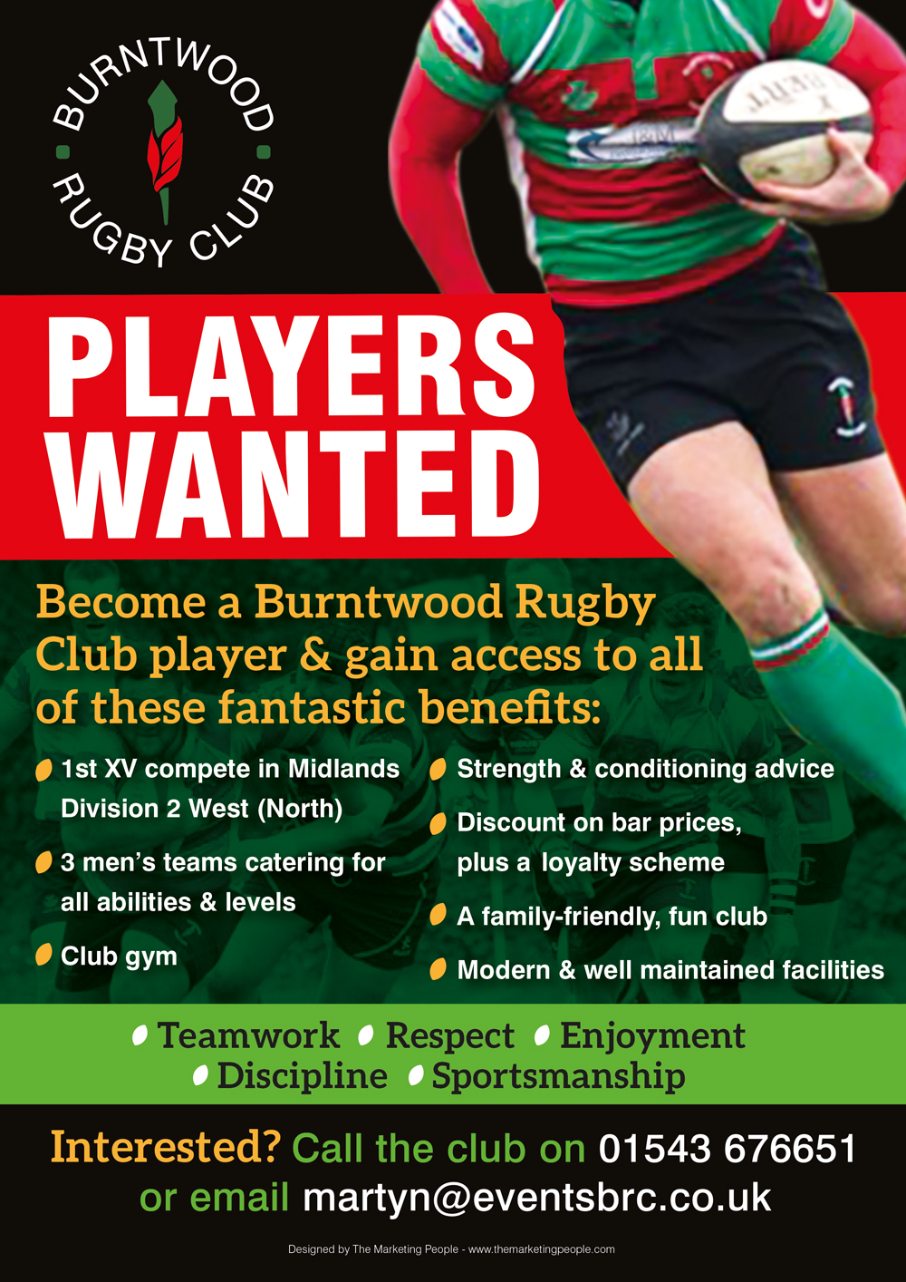 The Benefits of Becoming a Burntwood Rugby Club Player